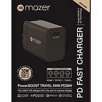 Củ Sạc Mazer EnerG WALL.MINI PD30W USB-C Charger (100-240V)