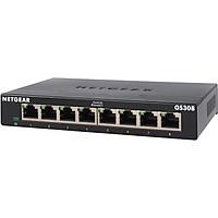 Bộ Chia Mạng Để Bàn 8 Cổng 10/100/1000M Gigabit Ethernet Unmanaged Switch Netgear GS308 - Hàng Chính Hãng
