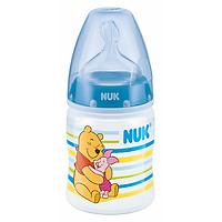 Bình Sữa Nhựa PP 150ml  Disney Núm Ti Silicone S1 Nuk NU11732 (Size M) - Màu Ngẫu Nhiên