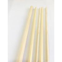 Combo 5 thanh gỗ tròn phi 2.5cm x Dài 60cm -1m2 làm phụ kiện macrame, handmade, decor (gỗ thông tự nhiên)