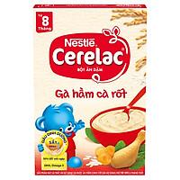 Bột Ăn Dặm Nestlé Cerelac - Gà Hầm Cà Rốt (200g)