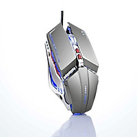 Chuột không dây pin sạc FreeWolf X11 chuyên game - Led 7 màu tự chuyển (màu ngẫu nhiên) HÀNG CHÍNH HÃNG