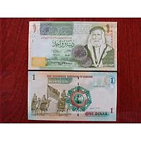 Tờ tiền giấy 1 Dinar của Jordan xưa, mới 100% - tăng kèm bao lì xì - The Merrick Mint