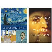 Combo Sách Kinh Điển : Vincent Van Gogh + Leonardo Da Vinci (Bìa Cứng)
