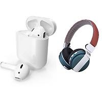 Bộ 2 Tai Nghe Bluetooth I8 TWS Và Bluetooth Chụp...