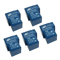 5pcs SONGLE 24V 1 CH Relay SLA-24VDC-SL-C 250V AC 30V 30A DC Workshop