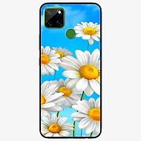 Ốp lưng dành cho Realme C12 mẫu Hoa Trắng Trời Xanh