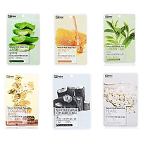 Combo 6 miếng mặt nạ Benew Natural Herb Mask Pack cao cấp Hàn Quốc ( có 6 loại - mỗi loại 1 miếng )