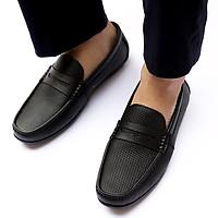 Giày Lười Nam Xuất Dư Da Bò Mã GL-66
