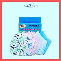 [[ Xuất Khẩu Mỹ ]] - COMBO 3 HỘP - Khẩu Trang Y Tế Cao Cấp FAMAPRO - 3 Lớp Kháng Khuẩn / 99% Lọc Khuẩn, Bụi, Virus Tốt Nhất / Trẻ Em - [ CB3 - 5D BABY - HỘP ]