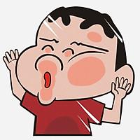 SHIN-CHAN - Sticker transfer hình dán trang trí Xe hơi Ô tô size 11x11cm