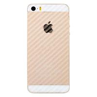 Bộ Kính Cường Lực Và Miếng Dán Mặt Sau Vân Carbon Remax iPhone 5 / 5S / 5SE  (Trong Suốt) - Hàng Nhập Khẩu