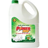 Nước Rửa Chén POWER100 Hương Trà Xanh 3,8kg