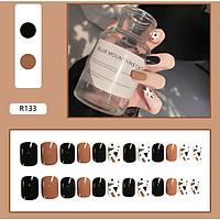 Bộ 24 móng tay giả nail thời trang như hình (R-133)