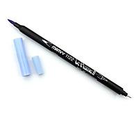 Bút lông hai đầu màu nước Marvy LePlume II 1122 - Brush/ Extra fine tip - Periwinkle (99)