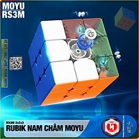 Rubik Moyu RS2M/RS3M/RS4M-Nam Châm Từ Tính Stickerless 2020 - Đồ Chơi Trí Tuệ Rubik Nam Châm Phát Triển Kỹ Năng