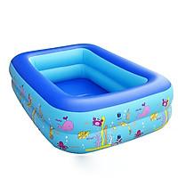 Bể bơi phao mini  chính hãng YOYO KT 120*85*35cm (tặng kèm bơm điện)