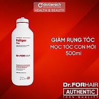 Dầu gội giảm rụng tóc Dr ForHair phục hồi hư tổn nang chân tóc và kích thích mọc tóc - Dr For Hair/Dr.ForHair Folligen Plus Shampoo 500ml