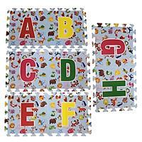Bộ 26 chữ cái thảm xốp lót sàn an toàn Thoại Tân Thành (30x30cm) (loại mới)
