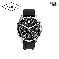 Đồng hồ nam FOSSIL Garret dây silicone FS5624 - màu đen
