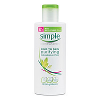 Sữa Tẩy Trang Simple Kind To Skin Purifying Cleansing Lotion (200ml)