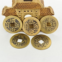 Combo 15 Đồng Tiền Xu Cổ Phong Thuỷ Trong Bộ Xu Ngũ Đế