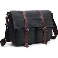 Túi đeo chéo nam vải canvas TX0003 - đi học, đi làm, đi chơi
