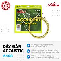 Bộ dây đàn Guitar Acoustic cao cấp Alice A408 - Hàng nguyên hộp - Hàng chính hãng
