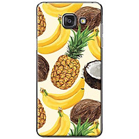 Ốp lưng dành cho Samsung Galaxy A3 (2016) mẫu Chuối dừa