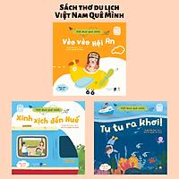 Set 3 Cuốn Sách Thơ - Việt Nam Quê Mình - Truyện Tranh Du Lịch, Khám Phá Cho Bé 0-3 4-6 Tuổi