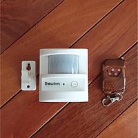 Báo trộm báo khách chống trộm Decom sử dụng mắt cảm biến hồng ngoại dùng điện 220v  hoặc dùng pin có điều khiển đi kèm
