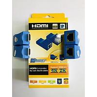 Đầu chuyển đổi HDMI sang RJ45 chuẩn 30 Mét Lan (HDMI to Lan 30 mét)