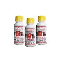 Combo 3 chai phân bón Amino Quelant-05 bổ sung vi lượng B chống rụng bông (100ml/chai) - Chuyên dùng cho hoa lan, hoa hồng, bonsai