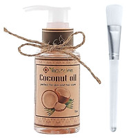 Dầu dừa tặng cọ quét mặt - Coconut Oil 75ml