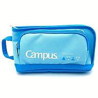 Bóp Viết Vải Campus PCS-U1-BL - Màu Xanh Da Trời