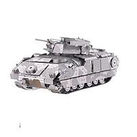 Mô hình thép 3D tự ráp cao cấp xe tank M2A2