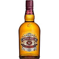 Rượu Whisky Chivas Regal 12 (700ml) 39.7% - 40.3% - Kèm Hộp