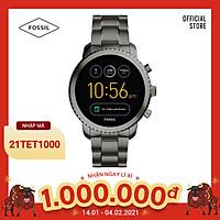 Đồng hồ nam Gen 3 Smartwatch Explorist dây thép không gỉ FTW4001 - màu xám - Hàng chính hãng