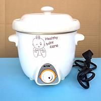 Nồi chưng, tiềm yến nấu cháo, soup,...nấu chậm DDG-7C Nắp sứ LOẠI TỐT (0,7L)- Hàng nhập khẩu