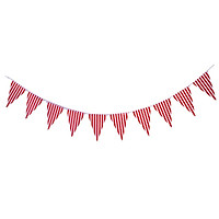 Colorful Paper Flag Banners Flag Decoration String Pennant Banner Black