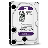 Ổ cứng camera HDD WD Purple 2TB - Hàng Nhập Khẩu