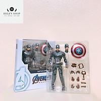 Mô hình Marvel Captain America người hùng nước Mỹ siêu đẹp trai