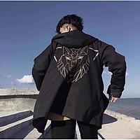 [P][M] Áo khoác cặp Áo khoát đôi gió dù 2 lớp chống nắng cao cấp phối sọc tay cực hót rất hot đẹp cá tính - M172