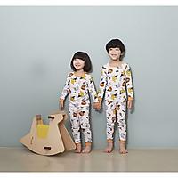 Bộ dài cho bé Olomimi Hàn Quốc Happy Halloween  FW20 - 100% cotton