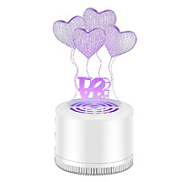 Creative 3D Mosquito Killer Lamp USB Jewelry Lamp LED Home Mosquito Killer Trap Pregnant Baby Anti Mosquito Pest Reject