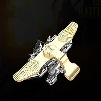 Bộ 2 Nút Bấm Chơi Game Sinh Tồn PUBG ROS Dòng Flying Eagle Thép Loại Trong Suốt