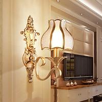 Đèn gắn tường bằng Đồng cao cấp DTD1009 Kèm Bóng đèn