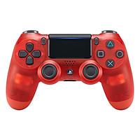 Tay Cầm PlayStation PS4 Sony Dualshock 4 (Màu Đỏ Trong) - Hàng Chính Hãng