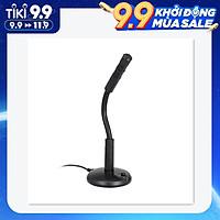 Microphone chuyên nghiệp dây cắm USB dùng cho thu âm, chơi game, nói chuyện