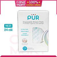 Miếng lót thấm sữa Pur bằng giấy - loại dùng 1 lần (9831)